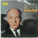 SVIATOSLAV RICHTER germany LP PROKOFIEFF CONCERTOS 5 & 8 Classical DEUSTCHE GRAM