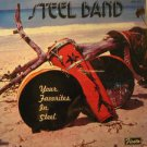 STEEL BAND usa LP YOUR FAVORITES IN STEEL Reggae SEALED/UNPLAYED FIESTA