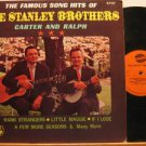 STANLEY BROTHERS usa LP FAMOUS SONG HITS Country NASHVILLE