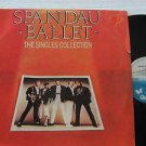 SPANDAU BALLET latin america LP THE SINGLES COLLECTION Rock LABEL IN SPANISH TOO