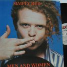 SIMPLY RED latin america LP MEN AND WOMEN Rock LABEL IN SPANISH TOO WEA