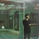 SEIJI OZAWA usa LP PICTURES OF AN EXHIBITION Classical RCA excellent