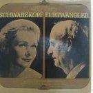 SCHWARZKOPF & FURTWANGLER usa LP WOLF SONGS Classical SERAPHIM excellent