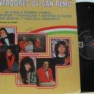 SAMPLER latin america LP TRIUNFADORES DE SAN REMO Vocal MUSART
