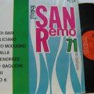 SAMPLER latin america LP SAN REMO 71 EN ITALIANO Vocal RCA