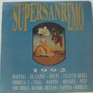 SAMPLER latin america LP SAN REMO 1992 Vocal PRIVATE