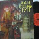 SAMPLER latin america LP SAN REMO 1971 Vocal CBS