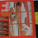 SAMPLER latin america LP LOS GRANDES HITS ITALIANOS Vocal EPIC
