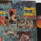 SAMPLER brazil LP SAMBAS DE ENREDO 1976 TOP-TAPE