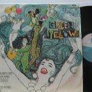 SAMPLER brazil LP GREEN YELLOW VARIG
