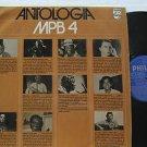 SAMPLER brazil LP ANTOLOGIA MPB 4 PHILIPS