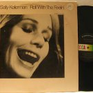 SALLY KELLERMAN usa LP ROLL WITH THE FEELIN' Vocal STEREO/STICKER ON COVER DECCA