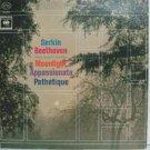 RUDOLF SERKIN usa LP BEETHOVEN THREE FAVORITE SONATAS Classical COLUMBIA excelle
