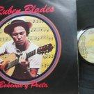 RUBEN BLADES venezuela LP BOHEMIO Y POETA Latin FANIA