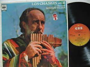 RODOLFO DALERA latin america LP LOS CHASKIS CBS