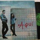 ROBERTO GONZALEZ latin america LP AQUI Rock LABEL IN SPANISH TOO PENTAGRAMA