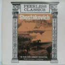 ROBERT HORNSTEIN usa LP SHOSTAKOVICH SYMPHONY N.9 Classical PEERLESS excellent