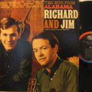 RICHARD AND JIM usa LP TWO BOYS FROM ALABAMA Country WITH ORIGINAL INNER SLEEVE