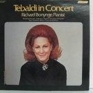 RENATA TEBALDI usa LP WITH PIANIST RICHARD BONYANGE Classical LONDON excellent