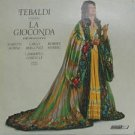RENATA TEBALDI usa LP LA GIOCONDA HIGHLIGHTS Classical LONDON excellent