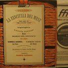 RENATA TEBALDI usa LP LA FANCIULLA DEL WEST Classical WITH ORIGINAL INNER SLEEVE