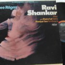 RAVI SHANKAR latin america LP THREE RAGAS Reggae CAPITOL