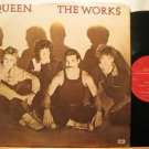 QUEEN mexico LP THE WORKS Rock LABEL IN SPANISH TOO EMI excellent