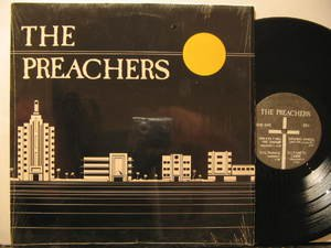PREACHERS usa LP S/T SELF SAME UNTITLED Rock CROSS excellent