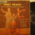 PEREZ PRADO usa LP AND HIS FAMOUS LATIN ORCHESTRA ULTRAPHONIC excellent