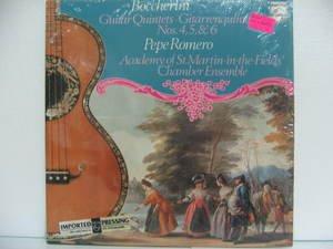 PEPE ROMERO usa LP BOCCHERINI GUITAR QUINTETS Classical PHILIPS excellent