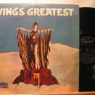 PAUL McCARTNEY peru LP WINGS GREATEST Rock LABEL IN SPANISH TOO CAPITOL