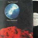 PAUL DESMOND usa LP PURE DESMOND Jazz CTI
