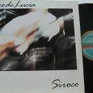 PACO DE LUCIA latin america LP SIROCO Reggae SONOGRAFICA