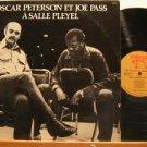 OSCAR PETTERSON JOE PASS usa LP A SALLE PLEYEL Jazz WITH ORIGINAL INNER SLEEVES