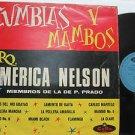 ORQUESTA AMERICA NELSON latin america LP CUMBIAS Y MAMBOS CORO