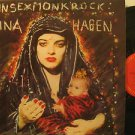 NINA HAGEN usa LP NUNSEXMONKROCK WITH ORIGINAL INNER SLEEVE/PROMO CBS excellent
