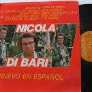 NICOLA DI BARI latin america LP DE NUEVO EN ESPANOL Vocal RCA