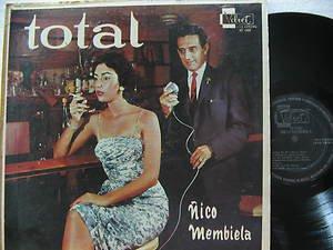 NICO MEMBIETA latin america LP TOTAL VELVET