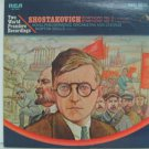 MORTON GOULD usa LP SHOSTAKOVICH SYMPHONIES 2 & 3 Classical RCA excellent
