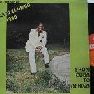 MONGUITO latin america LP FROM CUBA TO AFRICA PALACIO