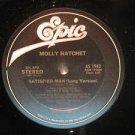 MOLLY HATCHET usa LP SATISFIED MAN Rock PROMO/WHITE JACKET EPIC