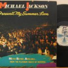 MICHAEL JACKSON mexico LP FAREWELL MY SUMMER LOVE Pop LABEL IN SPANISH TOO MOTOW