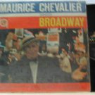 MAURICE CHEVALIER latin america LP SINGS BROWADWAY Vocal MGM