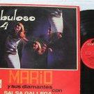 MARIO Y SUS DIAMANTES latin america LP FABULOSO VOL.4 POLYDOR