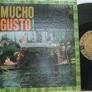 MARIACHI latin america LP MUCHO GUSTO Mexican COLUMBIA