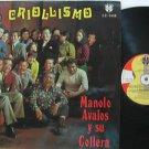 MANOLO AVALOS latin america LP CRIOLLISIMO SONORADIO