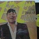 LOUIS PRIMA usa LP THE BEST OF Jazz RHINO