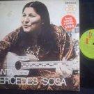 MERCEDES SOSA LP CANTA FOLKLORE EXCELLENT  ARGENTINA_44161
