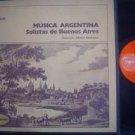 SOLISTAS DE BUENOS A LP MUSICA ARGENTINA_54650