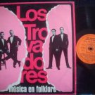 LOS TROVADORES LP MUSICA EN FOLKLORE  ARGENTINA_44046